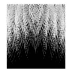 Feather Graphic Design Background Shower Curtain 66  x 72  (Large)