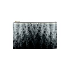 Feather Graphic Design Background Cosmetic Bag (Small)