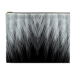 Feather Graphic Design Background Cosmetic Bag (xl)