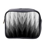 Feather Graphic Design Background Mini Toiletries Bag 2-Side Front