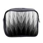 Feather Graphic Design Background Mini Toiletries Bag 2-Side Back