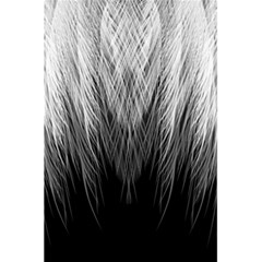 Feather Graphic Design Background 5.5  x 8.5  Notebooks