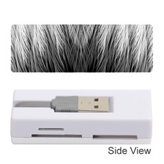Feather Graphic Design Background Memory Card Reader (stick)
