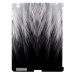 Feather Graphic Design Background Apple Ipad 3/4 Hardshell Case (compatible With Smart Cover)