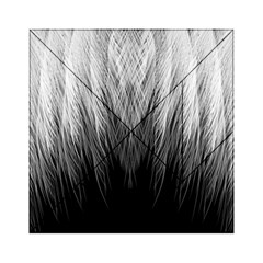 Feather Graphic Design Background Acrylic Tangram Puzzle (6  x 6 )