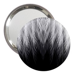 Feather Graphic Design Background 3  Handbag Mirrors