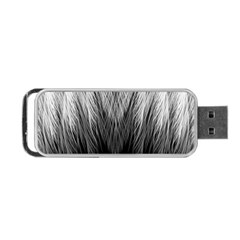 Feather Graphic Design Background Portable USB Flash (One Side)