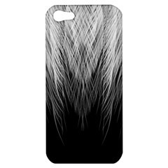 Feather Graphic Design Background Apple Iphone 5 Hardshell Case