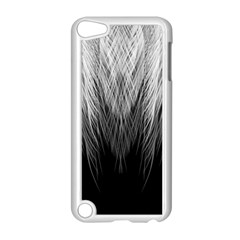 Feather Graphic Design Background Apple Ipod Touch 5 Case (white)