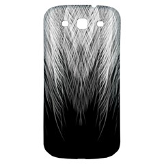 Feather Graphic Design Background Samsung Galaxy S3 S III Classic Hardshell Back Case