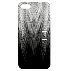 Feather Graphic Design Background Apple Iphone 5 Hardshell Case With Stand