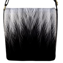 Feather Graphic Design Background Flap Messenger Bag (s)