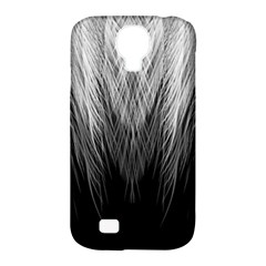 Feather Graphic Design Background Samsung Galaxy S4 Classic Hardshell Case (PC+Silicone)