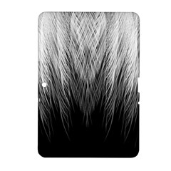 Feather Graphic Design Background Samsung Galaxy Tab 2 (10 1 ) P5100 Hardshell Case