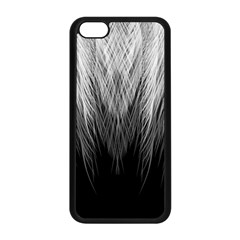 Feather Graphic Design Background Apple iPhone 5C Seamless Case (Black)