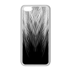 Feather Graphic Design Background Apple iPhone 5C Seamless Case (White)