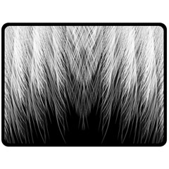 Feather Graphic Design Background Double Sided Fleece Blanket (large)