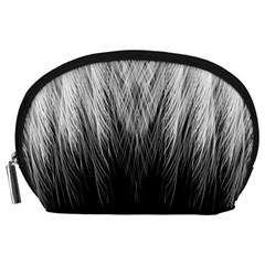 Feather Graphic Design Background Accessory Pouches (large)