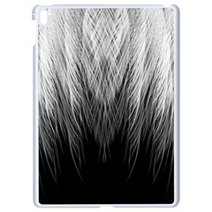 Feather Graphic Design Background Apple Ipad Pro 9 7   White Seamless Case