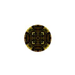 Abstract Glow Kaleidoscopic Light 1  Mini Magnets