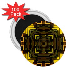 Abstract Glow Kaleidoscopic Light 2.25  Magnets (100 pack)