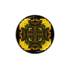 Abstract Glow Kaleidoscopic Light Hat Clip Ball Marker (4 pack)