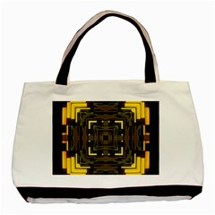 Abstract Glow Kaleidoscopic Light Basic Tote Bag