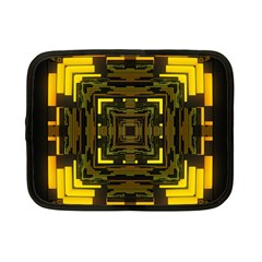 Abstract Glow Kaleidoscopic Light Netbook Case (small)