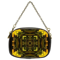 Abstract Glow Kaleidoscopic Light Chain Purses (One Side)