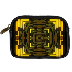 Abstract Glow Kaleidoscopic Light Digital Camera Cases