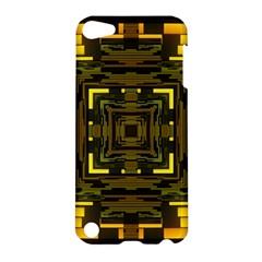 Abstract Glow Kaleidoscopic Light Apple Ipod Touch 5 Hardshell Case