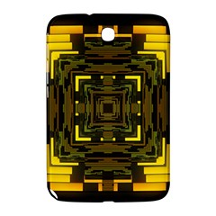 Abstract Glow Kaleidoscopic Light Samsung Galaxy Note 8 0 N5100 Hardshell Case
