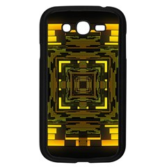 Abstract Glow Kaleidoscopic Light Samsung Galaxy Grand Duos I9082 Case (black)