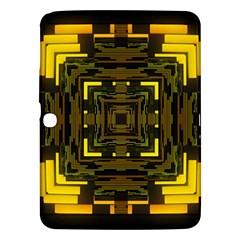 Abstract Glow Kaleidoscopic Light Samsung Galaxy Tab 3 (10.1 ) P5200 Hardshell Case