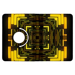 Abstract Glow Kaleidoscopic Light Kindle Fire Hdx Flip 360 Case