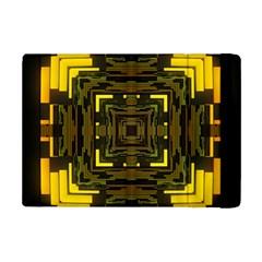 Abstract Glow Kaleidoscopic Light iPad Mini 2 Flip Cases