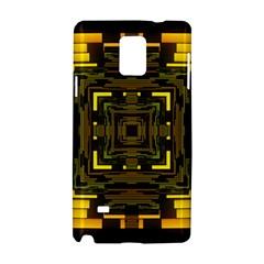 Abstract Glow Kaleidoscopic Light Samsung Galaxy Note 4 Hardshell Case