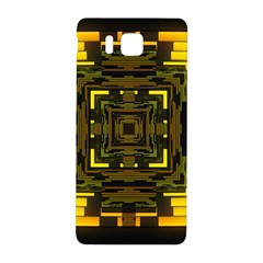 Abstract Glow Kaleidoscopic Light Samsung Galaxy Alpha Hardshell Back Case