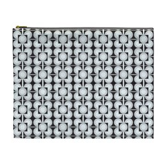 Pattern Background Texture Black Cosmetic Bag (XL)