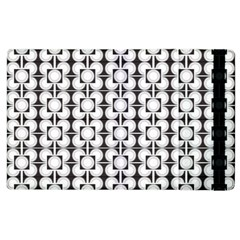 Pattern Background Texture Black Apple Ipad 2 Flip Case