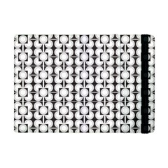 Pattern Background Texture Black Apple Ipad Mini Flip Case
