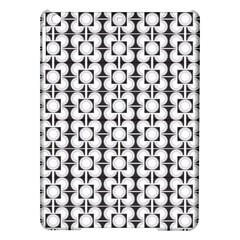 Pattern Background Texture Black Ipad Air Hardshell Cases