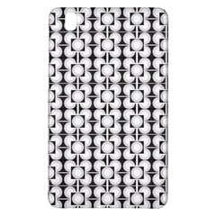 Pattern Background Texture Black Samsung Galaxy Tab Pro 8.4 Hardshell Case