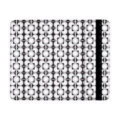 Pattern Background Texture Black Samsung Galaxy Tab Pro 8.4  Flip Case