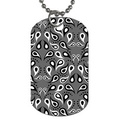 Paisley Pattern Paisley Pattern Dog Tag (Two Sides)