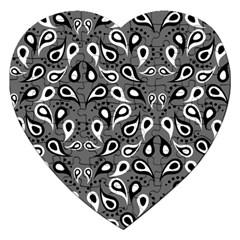 Paisley Pattern Paisley Pattern Jigsaw Puzzle (heart)