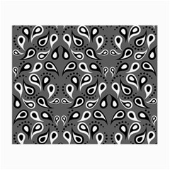 Paisley Pattern Paisley Pattern Small Glasses Cloth (2-Side)