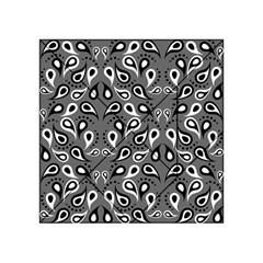 Paisley Pattern Paisley Pattern Acrylic Tangram Puzzle (4  X 4 )