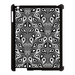 Paisley Pattern Paisley Pattern Apple Ipad 3/4 Case (black)
