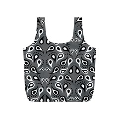 Paisley Pattern Paisley Pattern Full Print Recycle Bags (s)